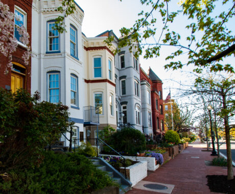 Capital Hill townhouses